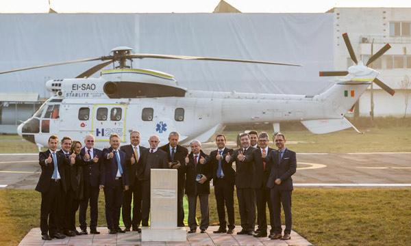 Airbus Helicopters lance une nouvelle variante du Super Puma qui sera produite en Roumanie
