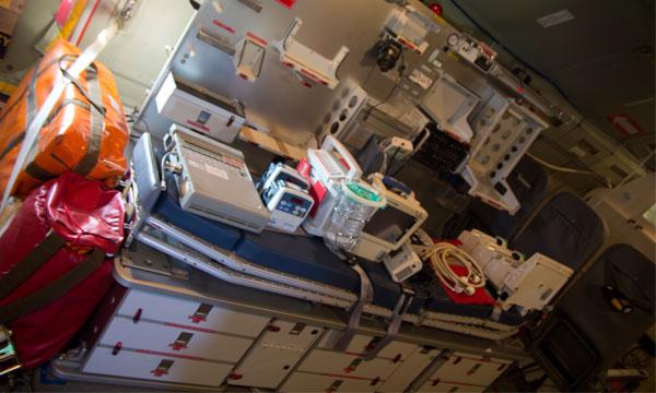 Le module MORPHEE, ambulance volante des armées