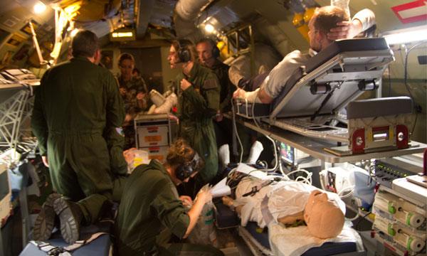 L'armée au service des évacuations aéromédicales