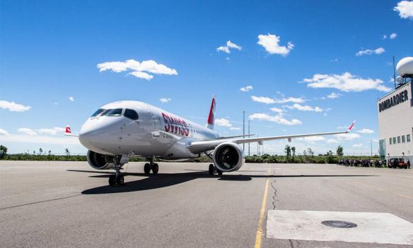 Le CSeries de Bombardier obtient sa certification Transports Canada