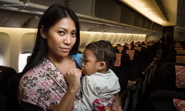Anggun : nouvelle marraine d'Aviation Sans Frontières