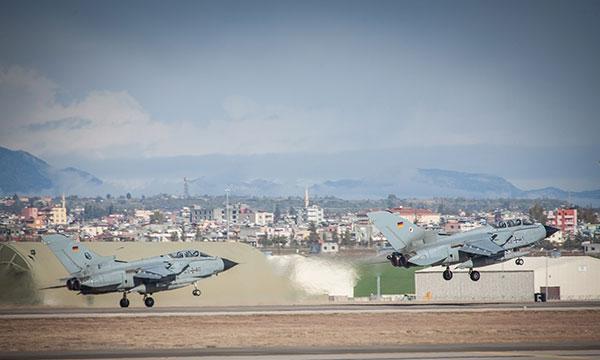 Les Tornado allemands débutent leurs missions au Moyen-Orient