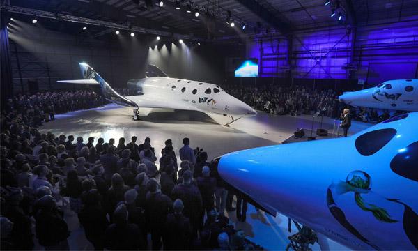 Virgin Galactic présente Unity, son nouveau vaisseau spatial