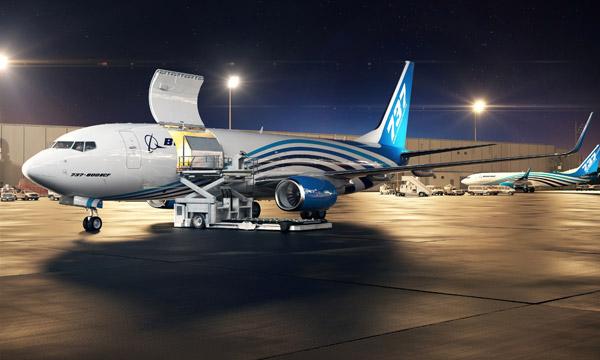 Boeing lance le 737-800BCF