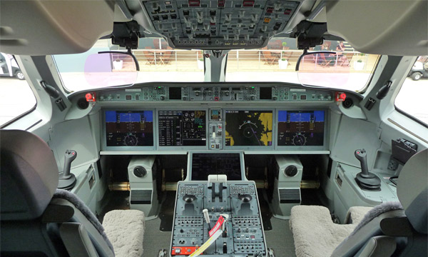 La suite Pro Line Fusion de Rockwell Collins fait son entrée dans l'aviation commerciale