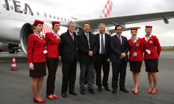 Volotea amorce la modernisation de sa flotte avec son premier A319