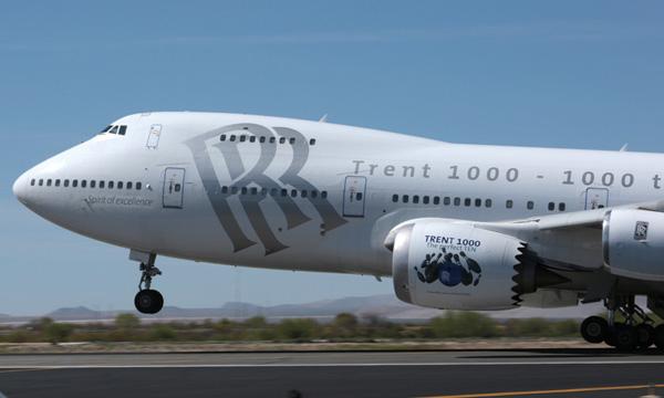 Rolls-Royce fait voler le Trent 1000 TEN