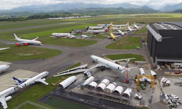 Tarmac Aerosave poursuit son développement à Tarbes