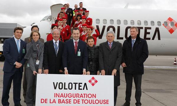 Volotea inaugure sa base de Toulouse