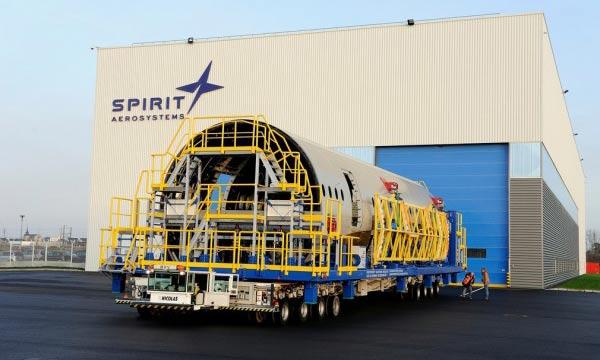 Spirit AeroSystems va déployer l'outil  SART de TESTIA pour l'inspection d'éléments de fuselage