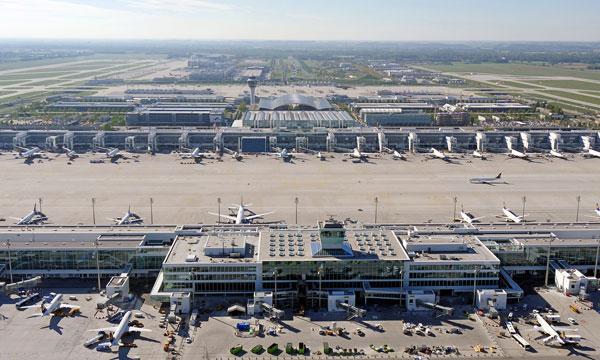Le nouveau satellite de l'aéroport de Munich entre en service