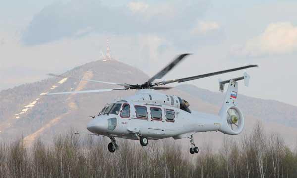 Vol inaugural du Ka-62