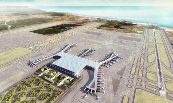 Le nouvel aéroport d'Istanbul tout en ambitions