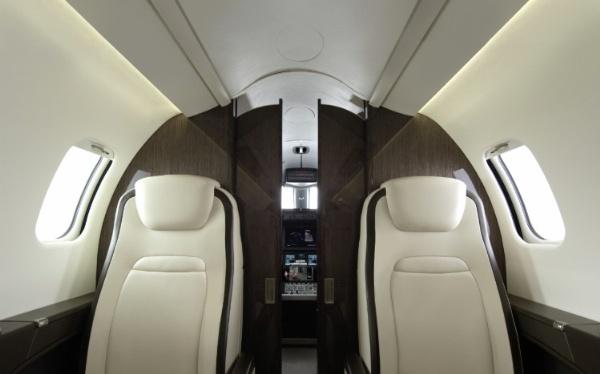 Bombardier améliore la cabine de son Learjet 75