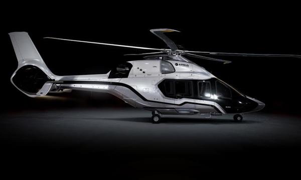 Airbus Helicopters présente la version VIP du H160 et livre le 6e H130 à Monacair