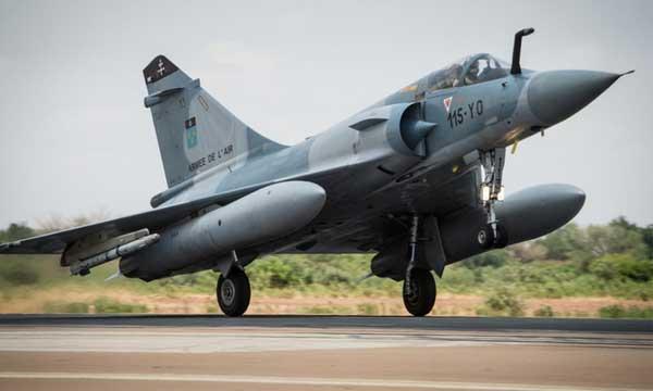 Les Mirage 2000 quittent Chammal pour retrouver Barkhane
