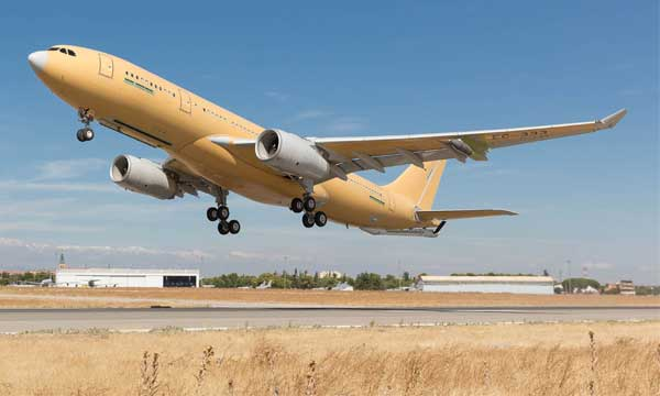 L'A330 MRTT Enhanced prend son envol