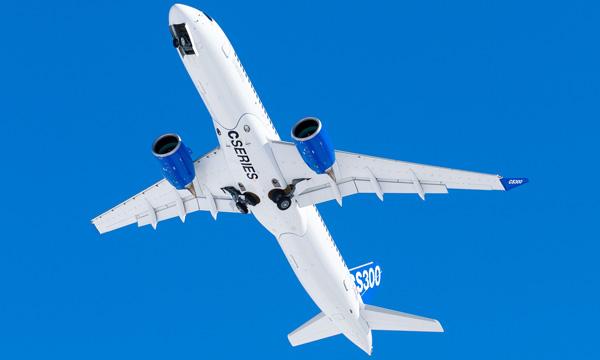 Le CS300 de Bombardier certifié en Europe