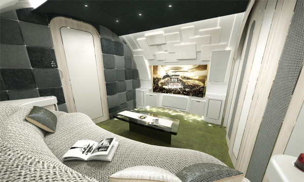 NBAA : Avec Melody, l'Airbus ACJ320neo a sa nouvelle cabine