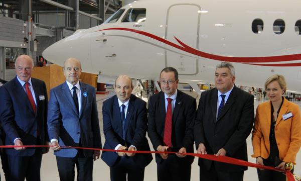 Dassault va poursuivre son développement à Mérignac