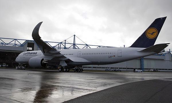 Lufthansa recevra son 1er Airbus A350 le 19 décembre