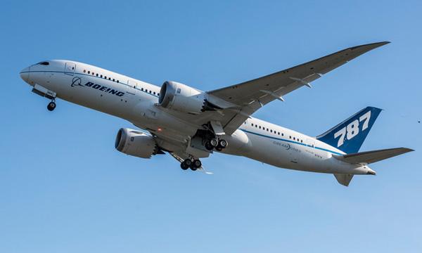 Le Trent 1000 TEN vole sur un Boeing 787