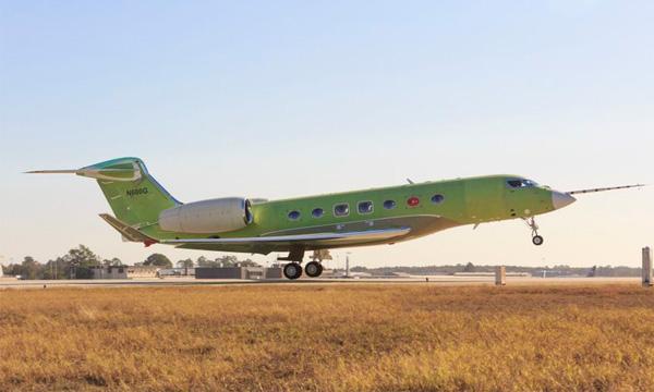 Le G600 de Gulfstream réalise son vol inaugural