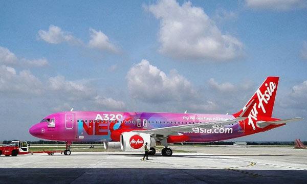 A320neo : Le méga-contrat d'AirAsia pour AFI KLM E&M