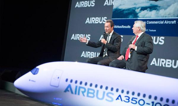 Un nouveau record de livraisons pour Airbus qui a largement dépassé ses objectifs en 2016