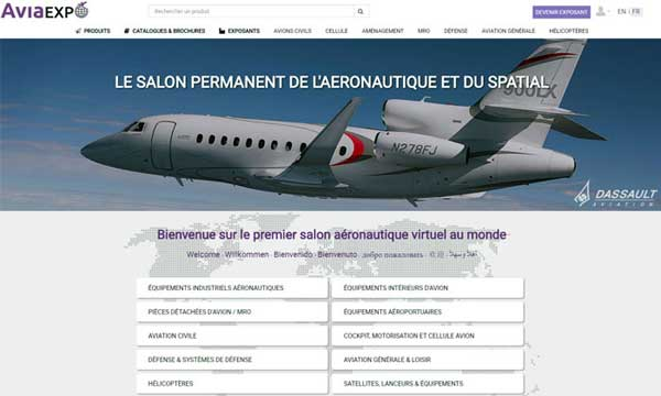 De la chrysalide au papillon : Aviaexpo.com fait peau neuve et devient un salon aéronautique permanent