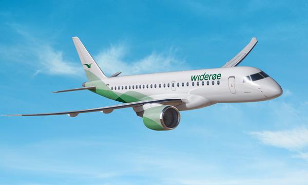 Wideroe signe un contrat de support avec Embraer pour sa flotte d'E2