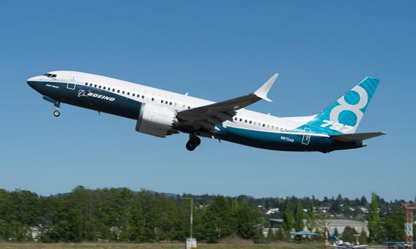 Le vol de validation du Boeing 737 MAX n'est pas prévu avant juin