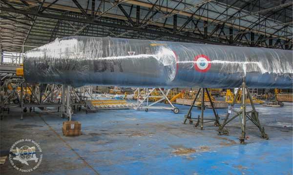 Un Mirage IV A roule vers le Royaume-Uni