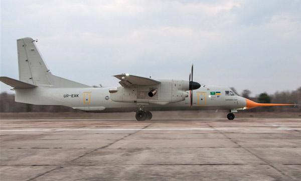 Photo : l'An-132 effectue son vol inaugural