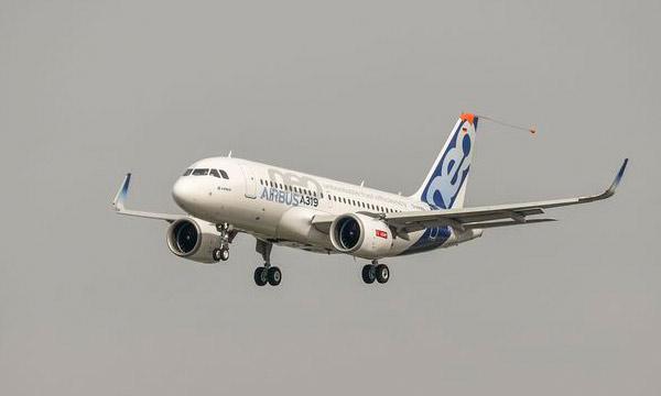 Photo : l'Airbus A319neo démarre aussi ses essais en vol