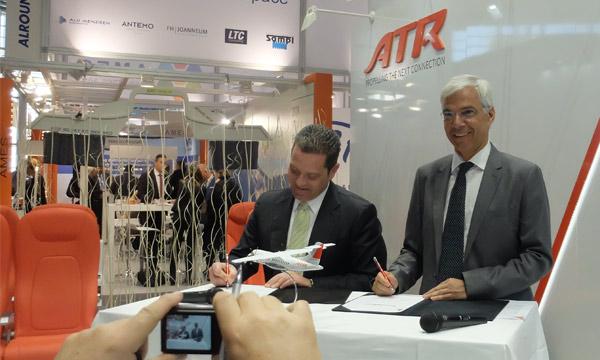 Aircraft Interiors 2017 : ATR offre le confort 18 pouces en standard sur la série -600