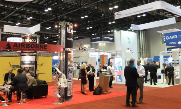 The major trends pick up speed at MRO Americas
