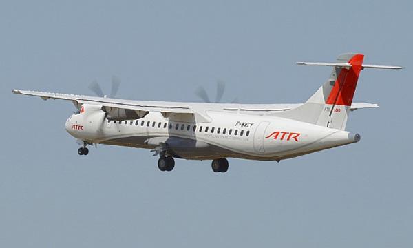 ATR remporte une commande de 50 ATR 72-600 pour IndiGo