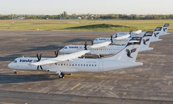 Iran Air reçoit ses quatre premiers ATR 72-600