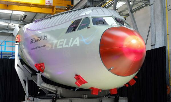 Stelia achève et livre la pointe avant équipée du Beluga XL à Airbus