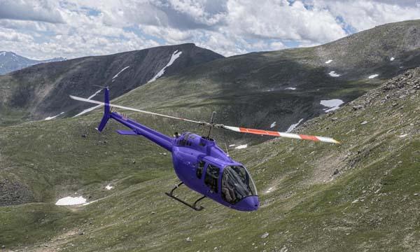 Dubai Airshow 2017 : Le Bell 505 Jet Ranger X reçoit sa certification européenne