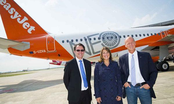 EasyJet reçoit son 1er A320neo