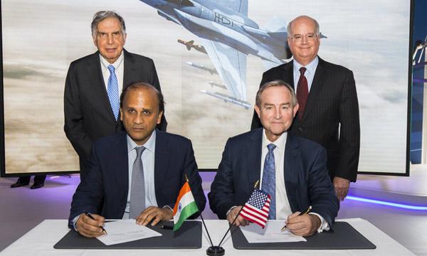 Bourget 2017 : Des F-16 de Lockheed Martin vont être produits en Inde