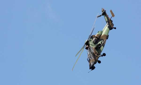 Bourget 2017 : Tigre et Caïman en démonstration tactique