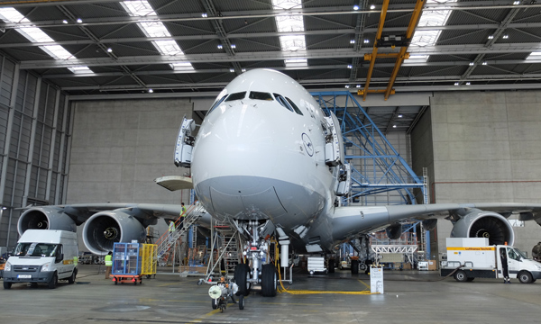 Extended maintenance intervals for the Airbus A380