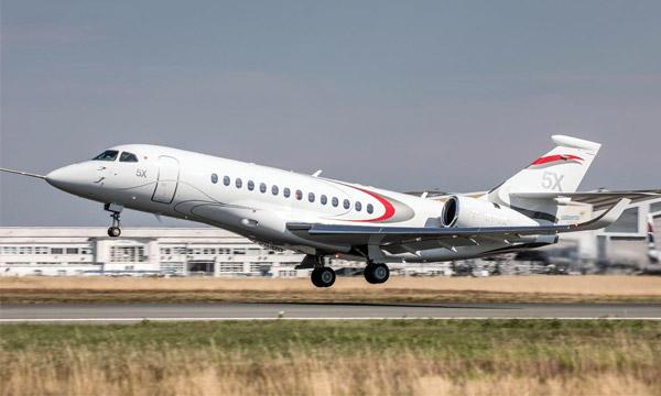 Nouveau retard pour le Dassault Falcon 5X et le Silvercrest