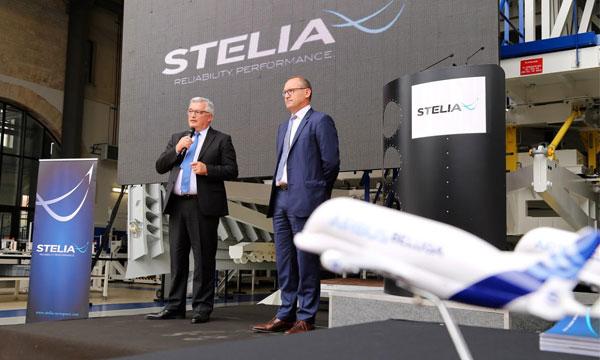 Stelia livre un nouvel ensemble du Beluga XL