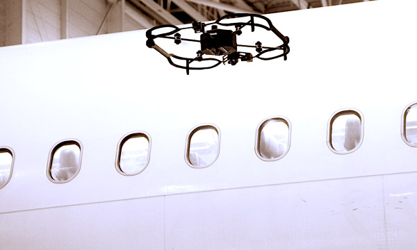 Donecle sets its drone to work for maintenance with AFI KLM E&M