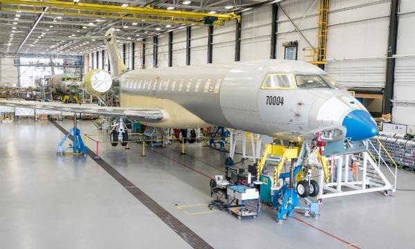 Le programme Global 7000 atteint les 500 heures de vol