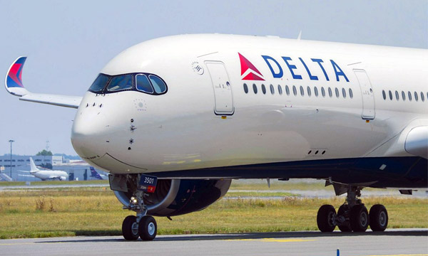 Photo : Delta Air Lines reçoit son 1er Airbus A350